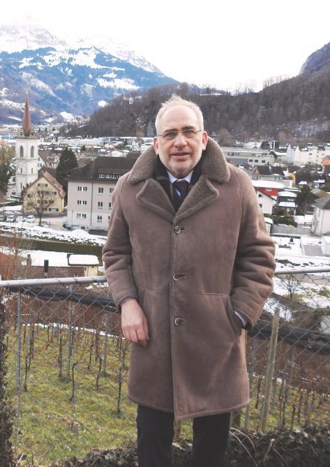 Gemeindepräsident Martin Laupper (FDP)