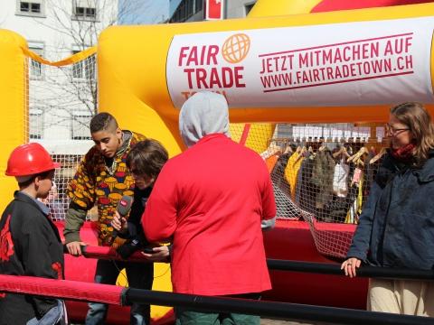Ein Goal für den Fairen Handel